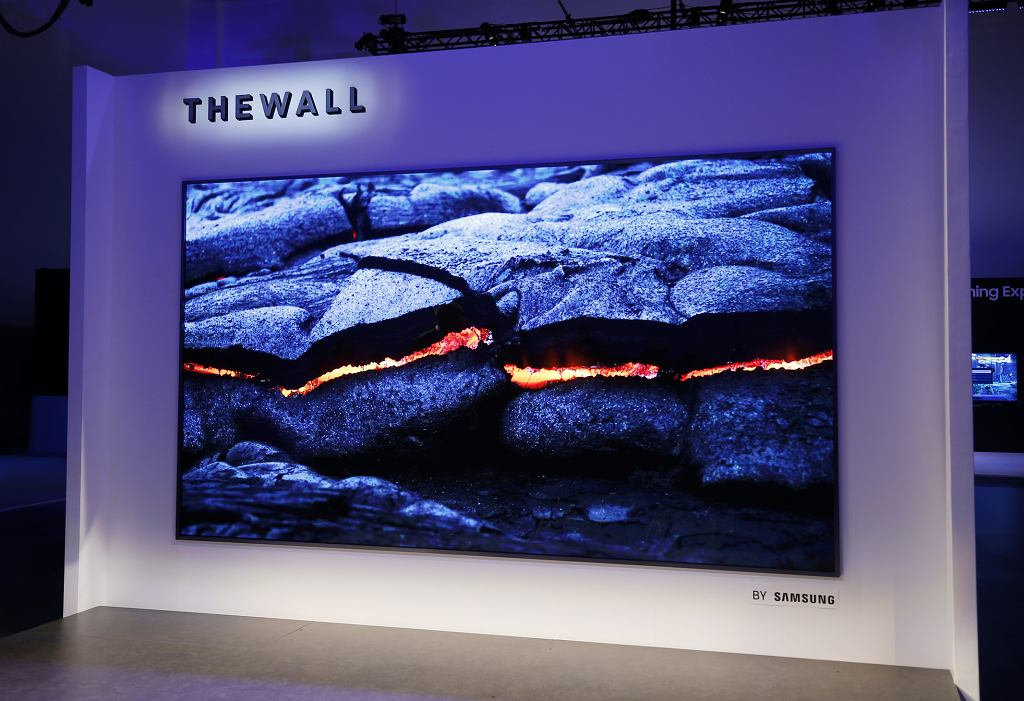 Samsung 'The Wall' - modularny telewizor MicroLED
