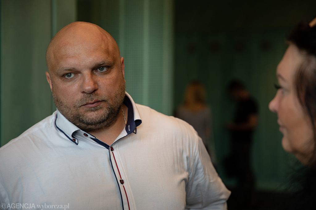 Posiedzenie Sądu Najwyższego w sprawie Arkadiusza Kraski ze Szczecina