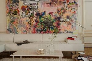 Mural na ścianie w domu i w mieszkaniu: pomysł na kreatywną dekorację wnętrza