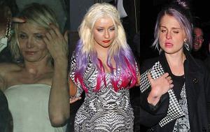 Christina Aguilera, Cameron Diaz, Kelly Osbourne