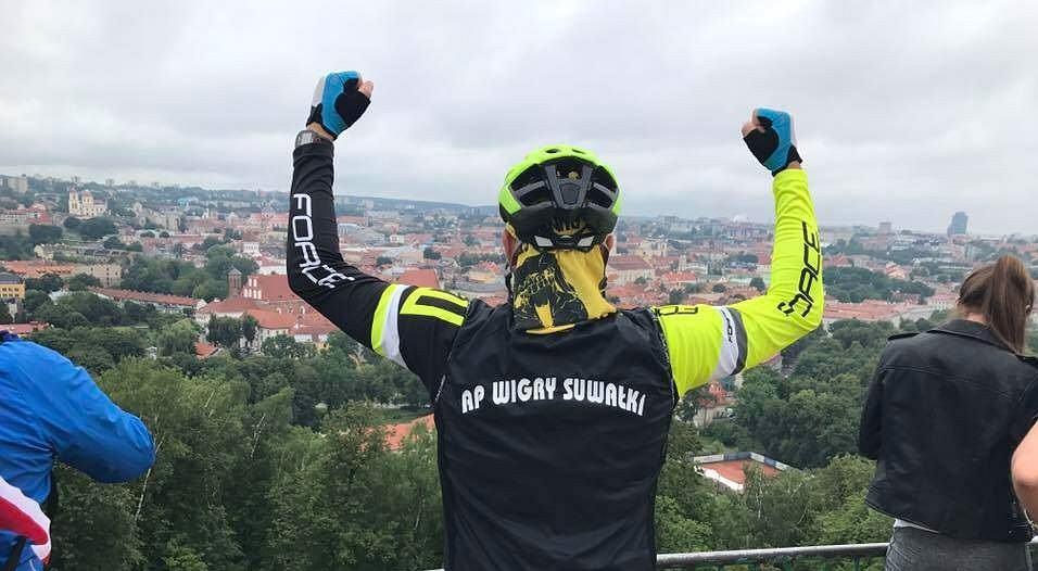 Wigry Suwałki. 400 km rowerem na mecz