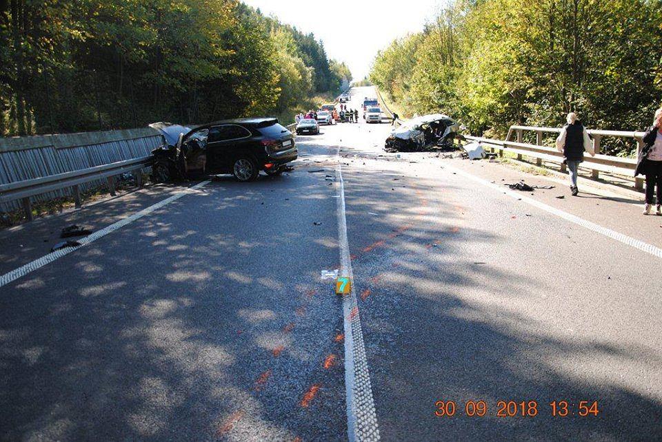 Słowacja. Wypadek z udziałem polskich kierowców