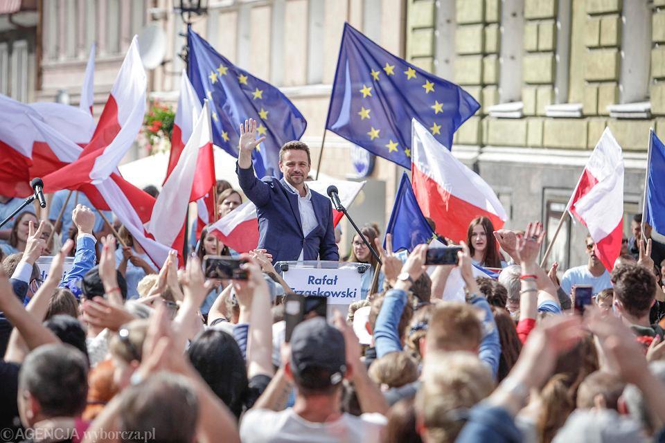 W ostatnim dniu kampanii wyborczej Rafał Trzaskowski odwiedzi także Opolszczyznę.