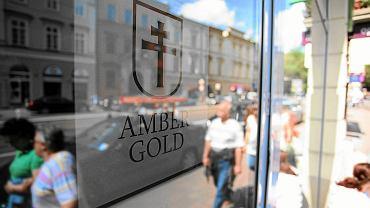 Jedna z placówek Amber Gold - w Krakowie