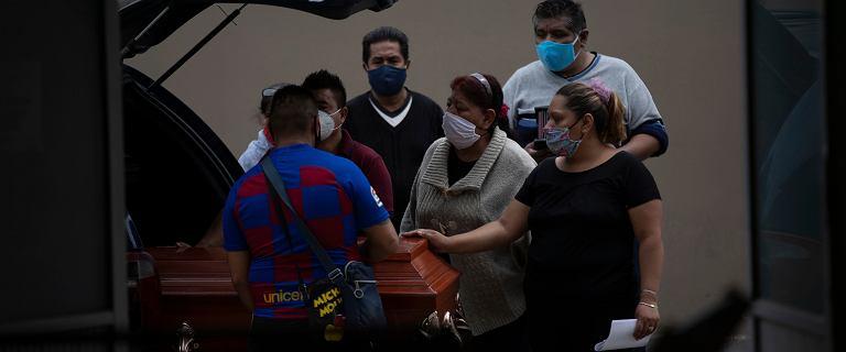Meksyk: rekordowa liczba nowych infekcji w ciągu doby - ponad 7 tysięcy