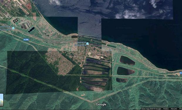 Tak wygląda obecnie teren Bajkalskiego Celulozowo-papierniczego Kombinatu