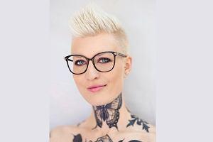 Katarzyna Puzyńska: Motyl na szyi to symbol anorektyczek. Bolało. Ale jak patrzę w lustro, myślę, że tutaj jestem