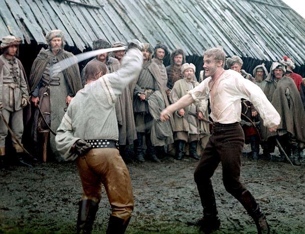 Scena pojedynku Kmicica z Wołodyjowskim w Potopie