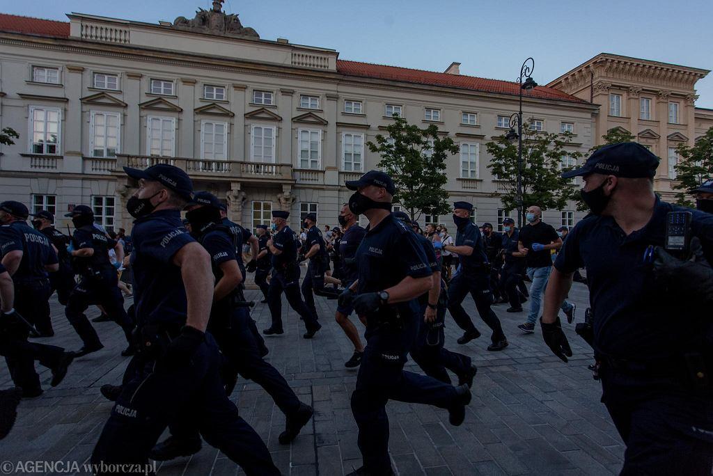 Protest w Warszawie po aresztowaniu aktywistki LGBT Margot