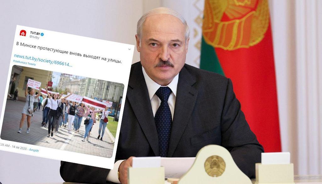 'Łukaszenka boi się o swoje życie'