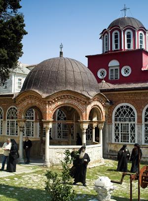 athos, klasztor, prawosławie, grecja