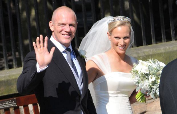 Zara Phillips i Mike Tindall.