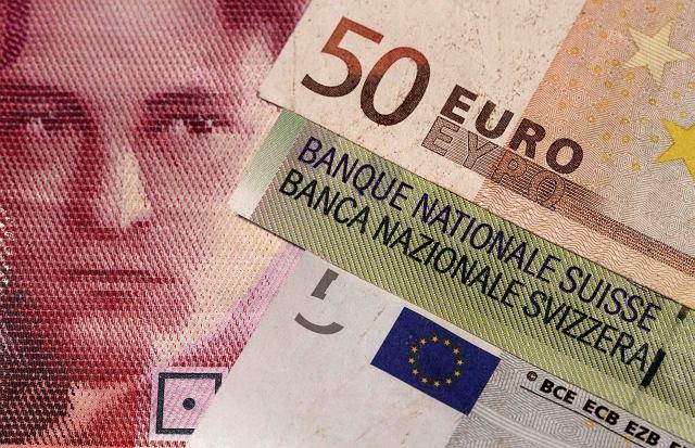 Euro i frank szwajcarski
