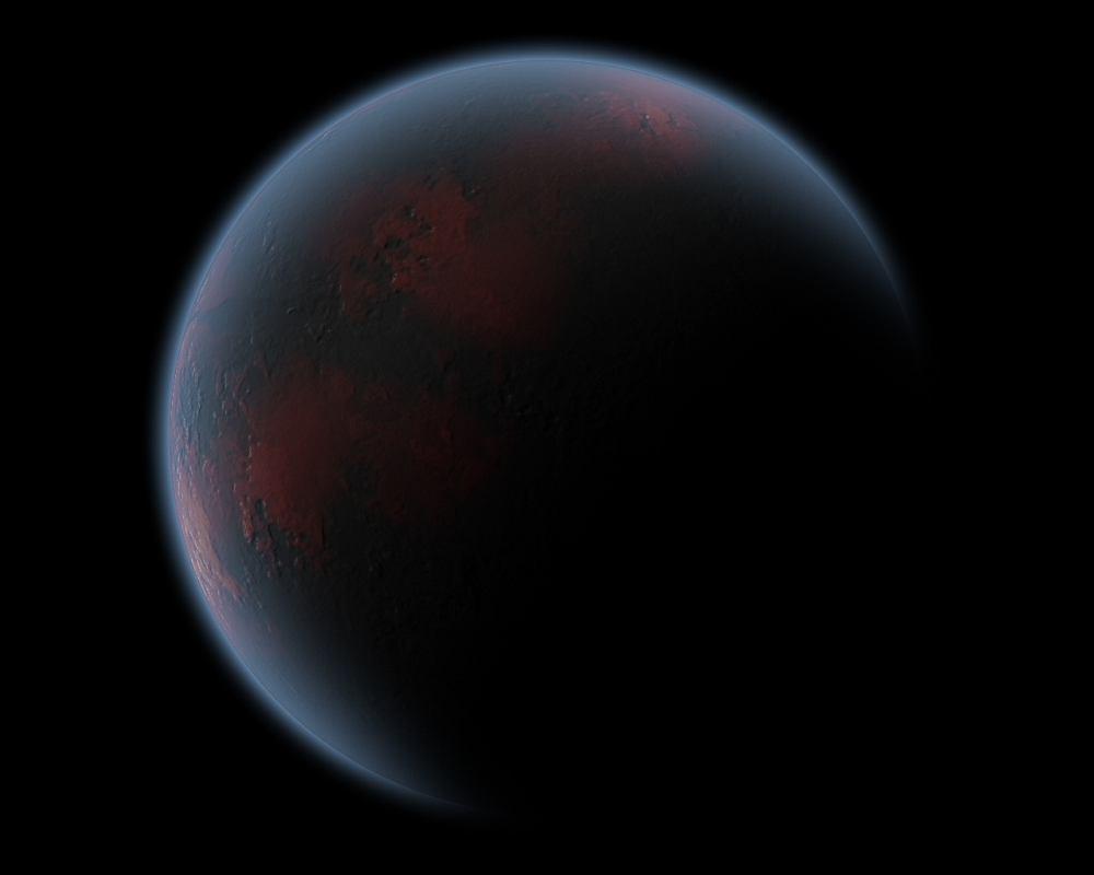 TrES-2b - najciemniejsza planeta odkryta przez człowieka