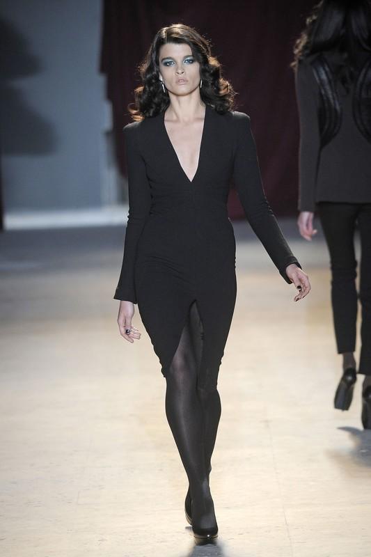 Ready to wear fall winter2011-12  ZAC_POSEN_Paris_Fashion_Week_march_2011  PHOTO: EAST NEWS / ZEPPELIN