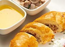 Kulebiak z kapustą i suszonymi grzybami - ugotuj