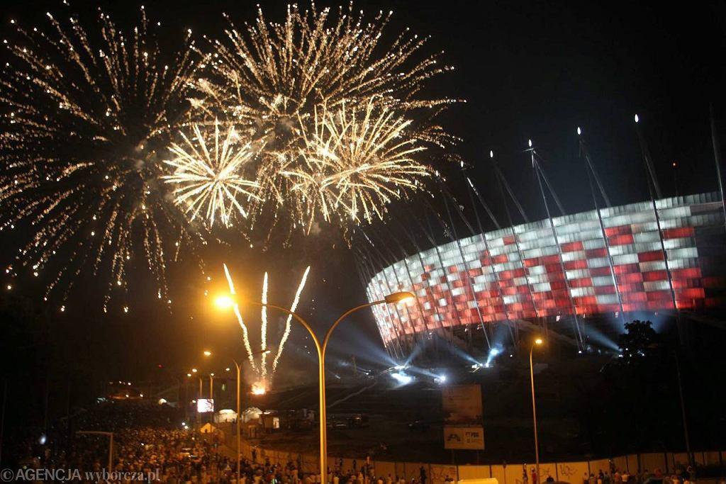 Big Light Show, czyli pierwsza iluminacja Stadionu Narodowego