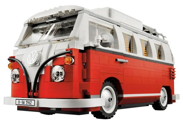Volkswagen T1 z klocków LEGO (model 10220)