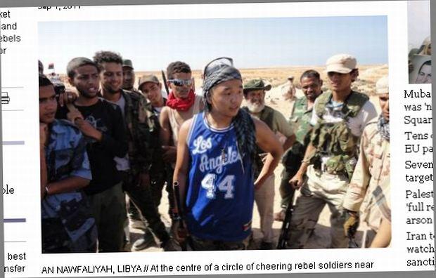 21-letni student z LA pojechał walczyć z u boku powstańców z Libii.