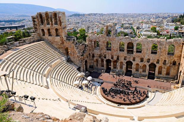 Grecja. Ateny na jesień