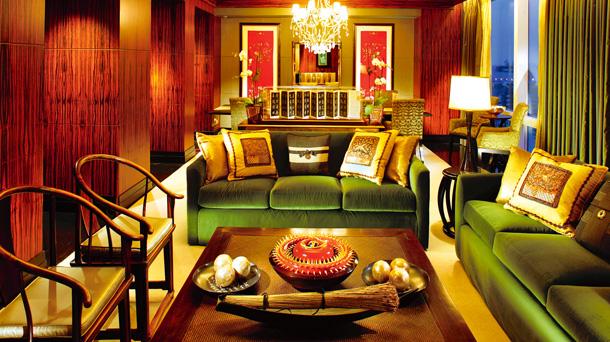 Logo z klasą: hotele Mandarin Oriental, hotele, logo z klasą, Living room