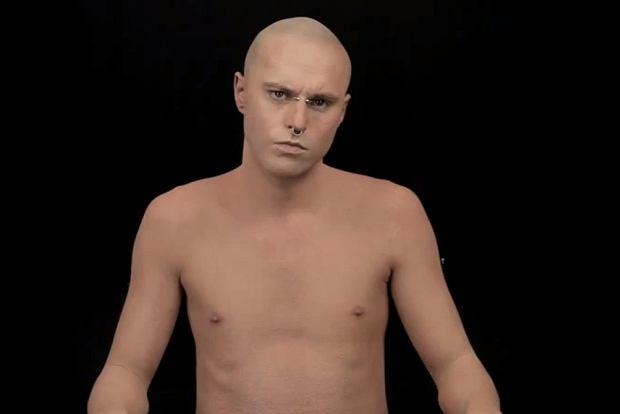 Tak Zombie Boy Wygląda Bez Tatuaży Jak To Możliwe Wideo