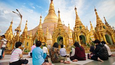 Pagoda Shwe Dagon, Birma