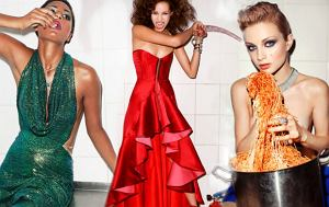 Top Model odcinek 8 - sesja w kuchni