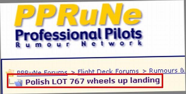 Wczoraj na forach PPRuNE (Proffesional Pilots Roumor Network) i AVHerald zawrzało. Wszyscy - piloci, znawcy, amatorzy i fani awiacji - piszą o lądowaniu boeinga, za którego sterami siedział kapitan Tadeusz Wrona. Co piszą? Poczytajcie.