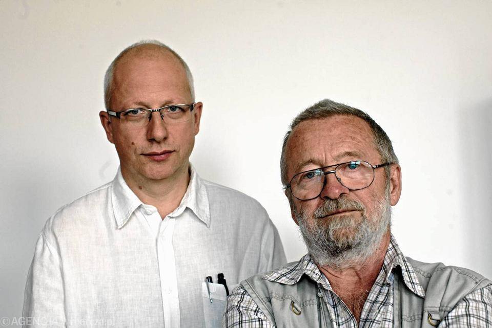 Paweł Strzelecki i Marek Kordos