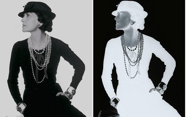 Coco Chanel, fot. Man Ray