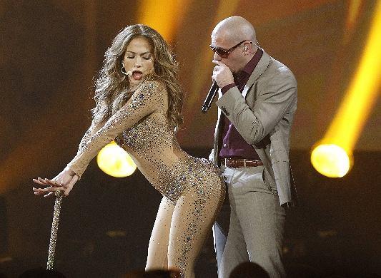 Lopez najwyraźniej potrafi czasem zapomnieć o prywatnych problemach. Podczas imprezy dała gorące show.