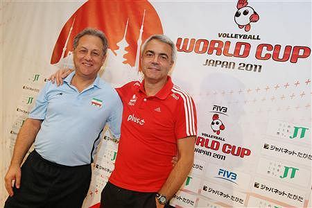 Trenerzy siatkarskich reprezentacji Iranu i Polski