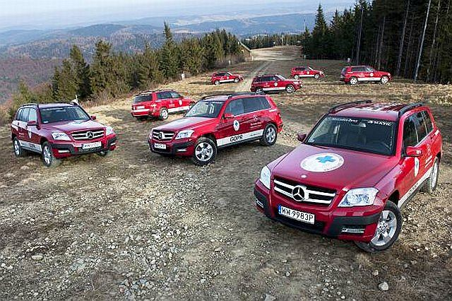 Mercedes i GOPR łączą siły