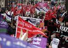 Strajk o emerytury zatrzymał Wielką Brytanię