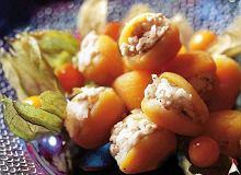 Morele faszerowane mielonym mięsem - ugotuj