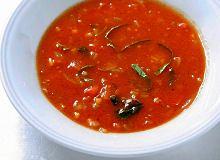 Zupa pomidorowo-miętowa - ugotuj