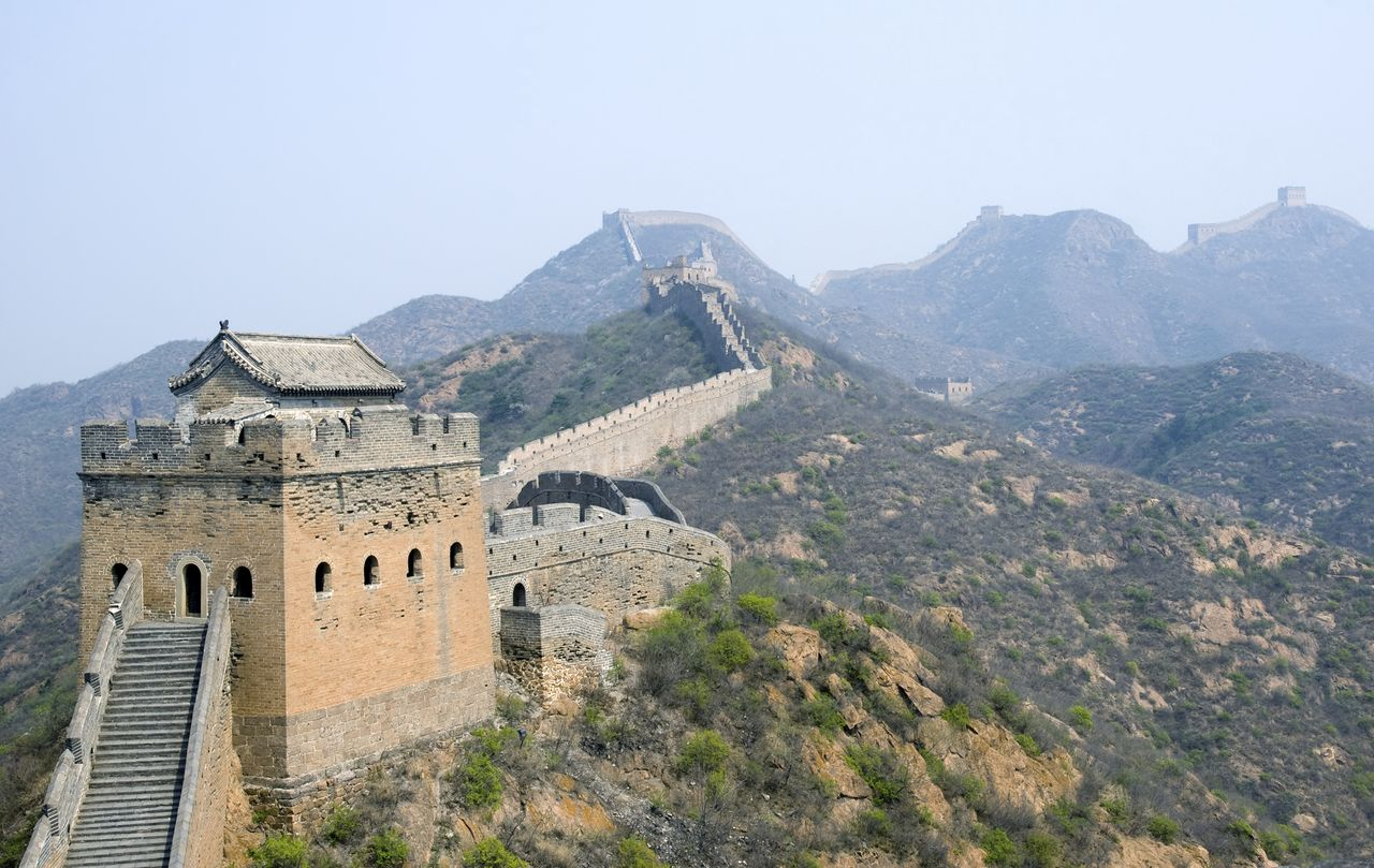 Tower of famous Great Wall