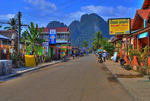 Indochiny: Vang Vieng - Laos