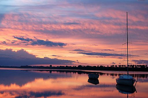 Jezioro Biskupińskie / Fot. flickr.com
