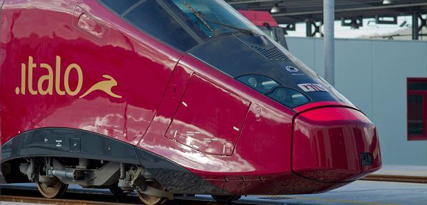 """Włochy. """"Ferrari na torach"""" - nowy, najszybszy pociąg w Europie!"""