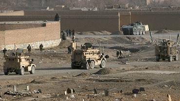 Miejsce  ataku na polskich żołnierzy, Ghazni, Afganistan