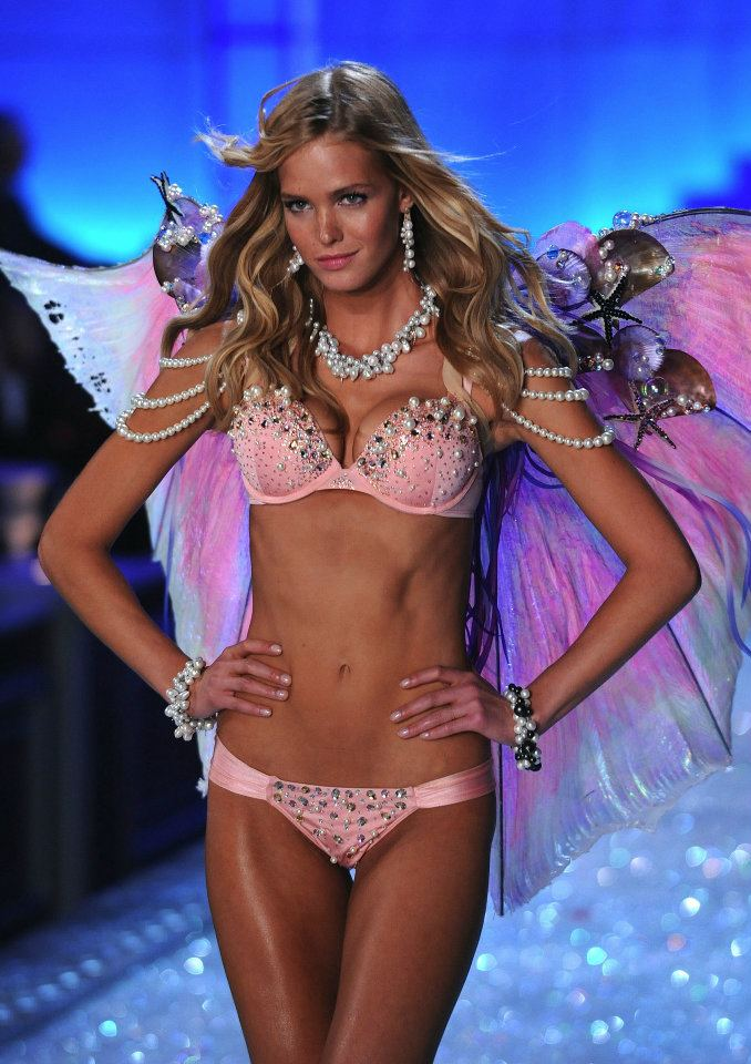 Erin Heatherton dla Victoria's Secret