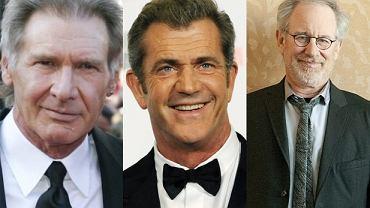 Harrison Ford,Mel Gibson,Steven Spielberg.