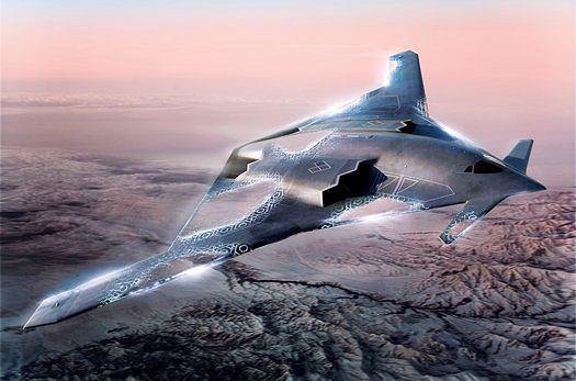 Tak może wyglądać następca bombowca B-2