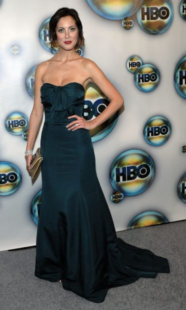 Eva Amurri Martino arrives at the 2012 HBO Golden Globe After Party at the Beverly Hilton in Los Angeles. on Sunday, Jan. 15, 2012. (AP Photo/Dan Steinberg)