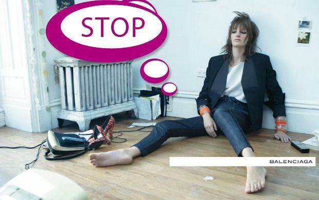 Kampania Balenciaga wiosna 2012 - hit czy kit?
