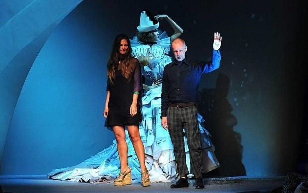 Bill Gaytten i Susanna Venegas - pokaz haute couture Dior jesień/zima 2011/12