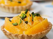 Tartaletki z pomarańczowym kremem - ugotuj