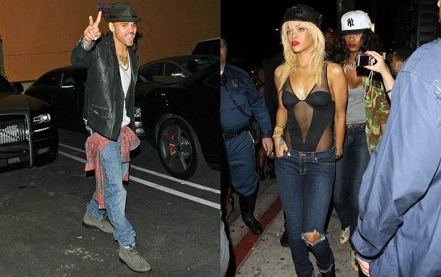 Gdy w pobliżu znajduje się były chłopak, to po prostu trzeba wyglądać seksownie! Rihanna jakby przeczuła całą sytuację, bo ubrała się wręcz wyzywająco! Całe szczęście, bo klubie w Hollywood bawił się jej eks, Chris Brown. Coś nam się wydaje, że ona ewidentnie czuje do niego miętę... Zabawa w kotka i myszkę jest o tyle łatwiejsza, że Rihanna i Brown mogą się już legalnie spotykać. W 2011 r. sąd pozwolił piosenkarzowi zbliżać się do Rihanny. Przypomnijmy, w 2009 roku Chris Brown został skazany za brutalne pobicie Barbadoski.